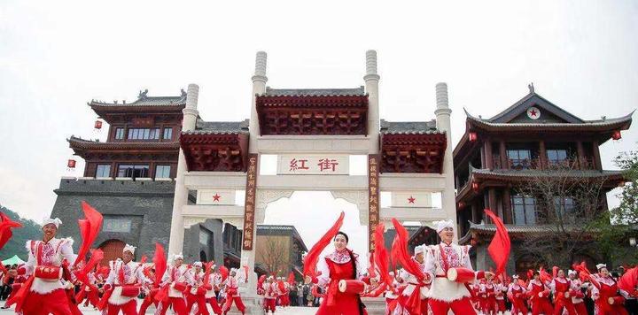 萬達延安紅街開業,三大融合創新紅色旅游模式