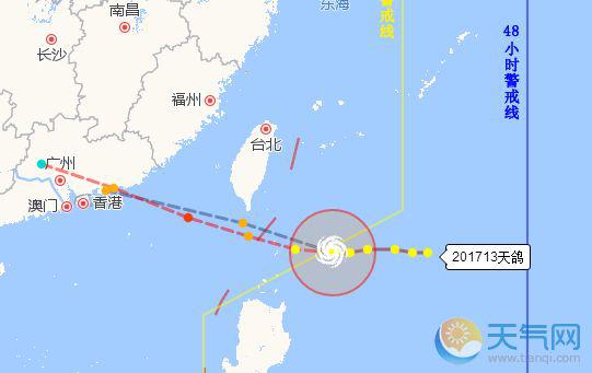"""突发:13号台风""""天鸽""""正式登陆珠海,最强风力14级,已安全转移7万余人"""