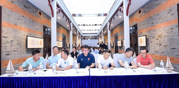 2018中国帆船公开赛新闻发布会在沪启幕,体旅融合助力城市发展升级