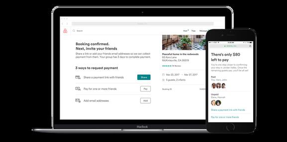Airbnb瞄准团队游市场,推出AA支付功能