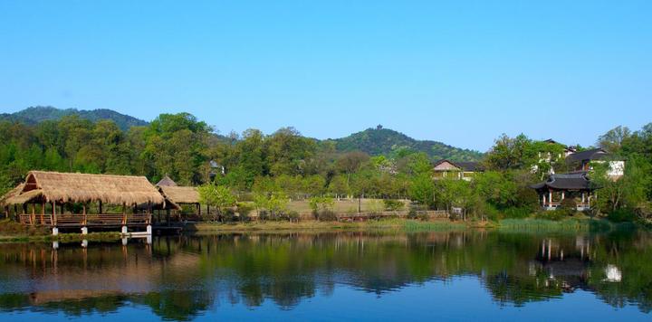 杭州紫萱度假村,隐逸在青山绿水之中