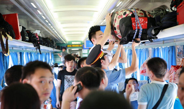 全国铁路国庆假期旅客发送量突破1亿人次