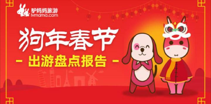 驴妈妈发布《狗年春节出游盘点报告》:IP带动旅行成新时尚