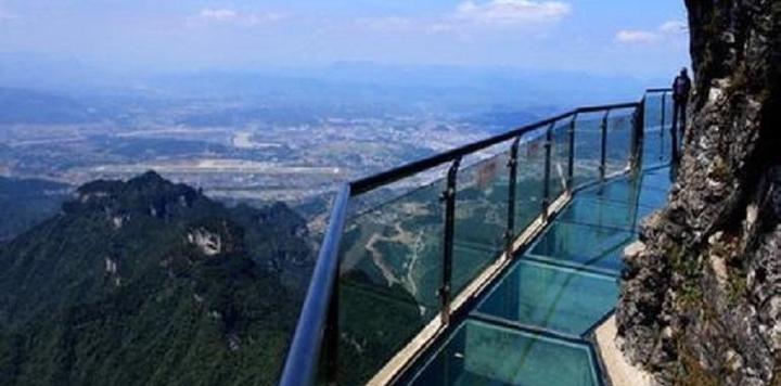 国家4A级景区明堂山景区拟挂牌新三板,玻璃栈道成为景区新的引流增长点