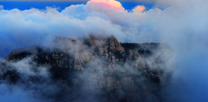 """青岛崂山进入全年最佳观赏期,风景区仲秋将再现""""太清水月"""""""
