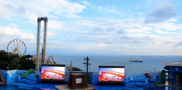 香港海洋公园9月18日重开