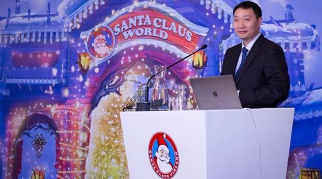 新天地集团获独家授权,圣诞老人主题乐园将在杭开建