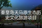 秦皇岛天马原生态历史文化旅游项目