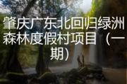 肇庆广东北回归绿洲森林度假村项目(一期)