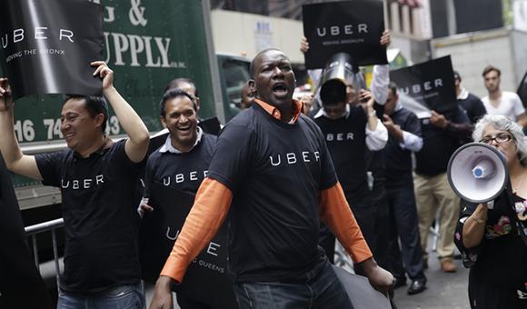"""""""互联网+""""是对传统特权思维的破坏与重构 ,Uber即是一例"""