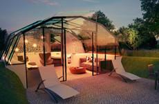 假如酒店全用智能玻璃做的,体验会如何?