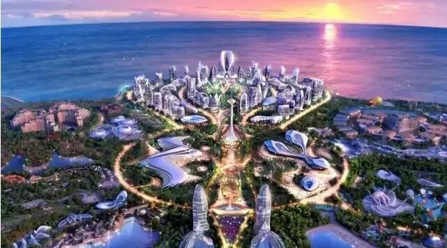 打造世界最大花形人工旅游岛,恒大1600亿标杆文旅地产项目都有哪些特色?