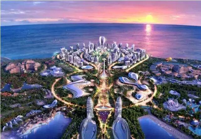 海南影视基地风景图片